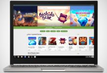 Chromebook s Google Play Storem