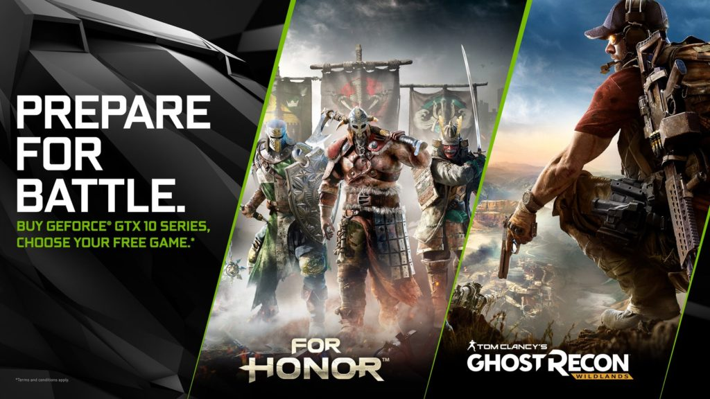 nvidia-geforce-gtx-prepare-for-battle-for-honor-and-ghost-recon-wildlands-bundle