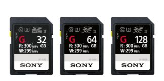 SD karty Sony SF-G Series