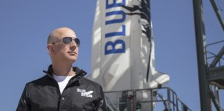 Blue Origin Jeffa Bezose