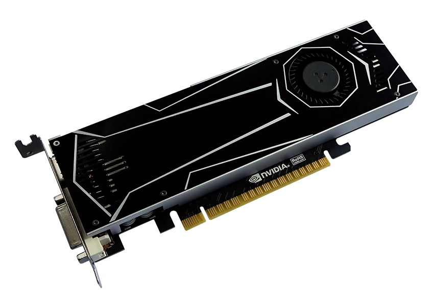 ASL GeForce GTX 1050 Ti 4GB Battle Flag