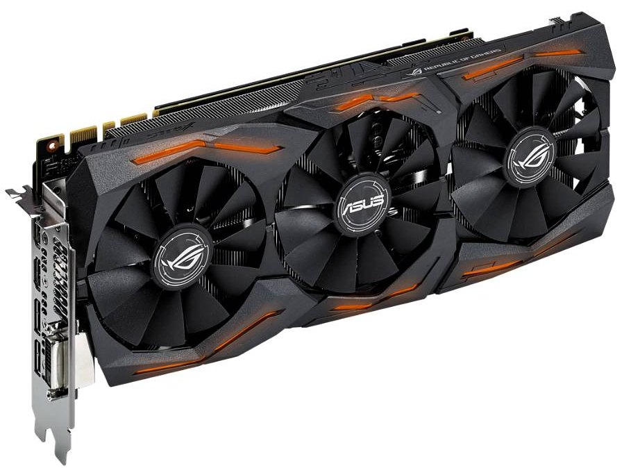 Asus GeForce GTX 1070 Strix O8G