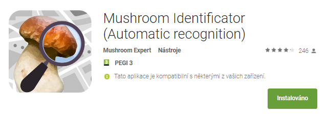 mushroomidentificator