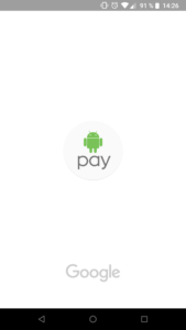 Aplikace Android Pay