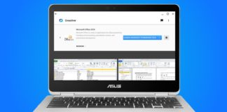 Microsoft Office na Chromebooku