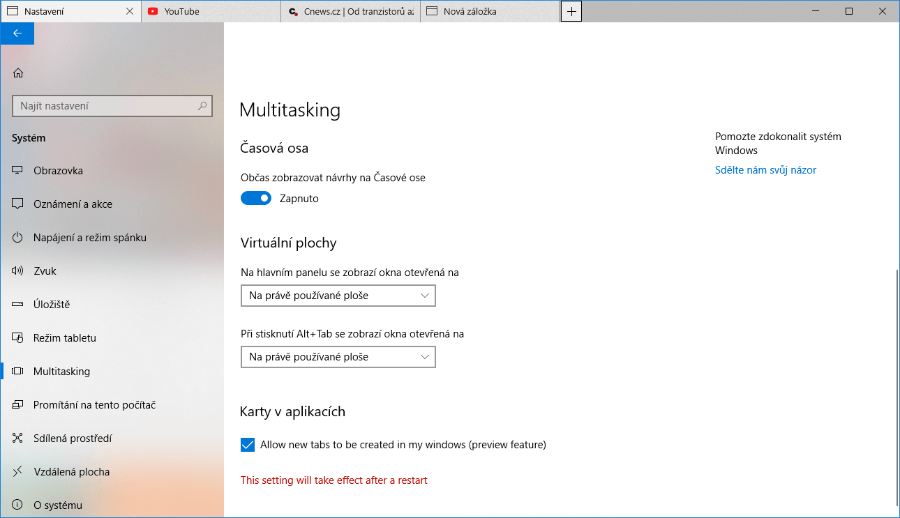 windows 10 build 17063 sets
