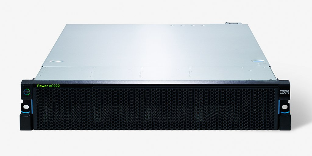 2U šasi serveru IBM Power System AC922
