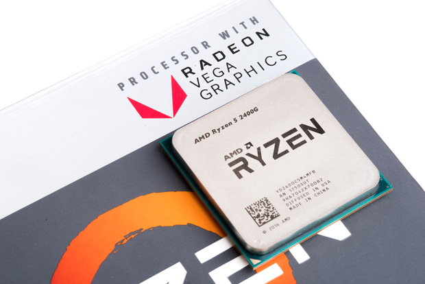 "Ryzen 5 2400G na fotografie z ""unboxingu"" webu The Tech Report"