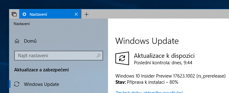 Windows 10 Insider Preview build 17623