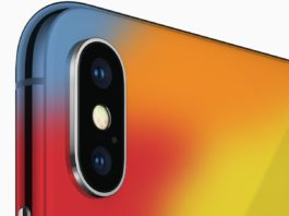 iPhone X 2018 color concept