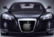 Mayback Exelero Apple car