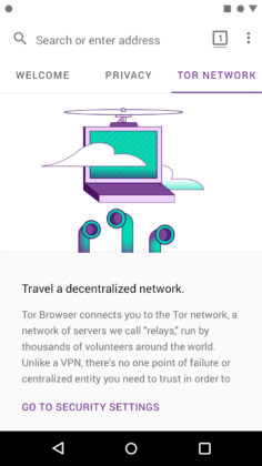 Tor Browser Android alfa