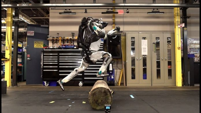 Boston Dynamics Atlas parkour