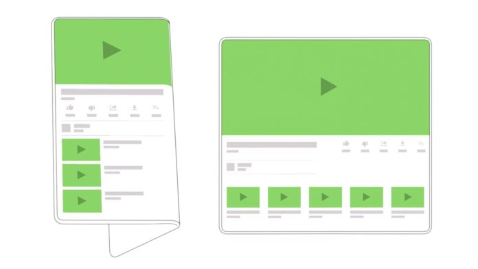 Android pro Foldables