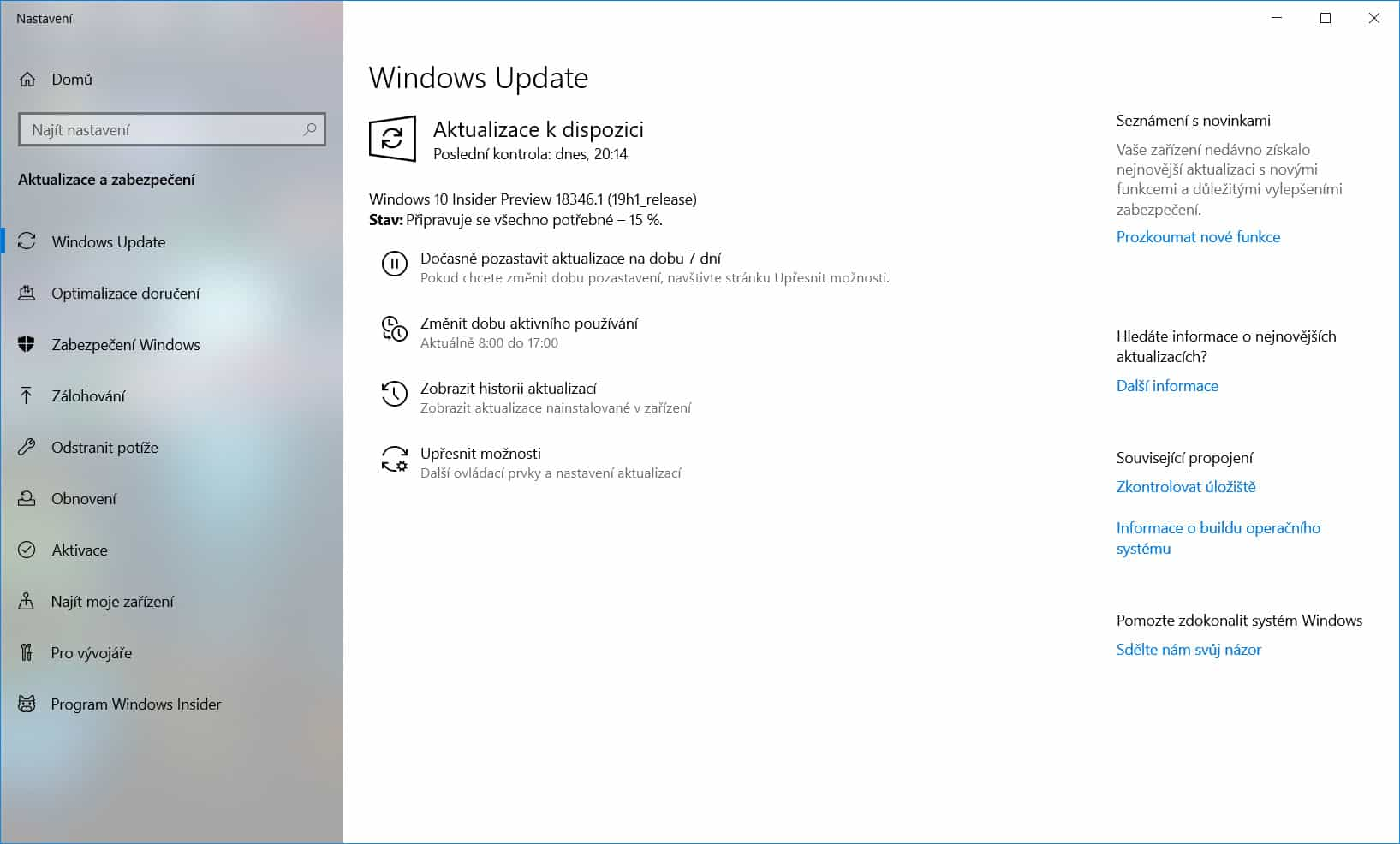 Windows 10 Insider Preview Build 18346 1