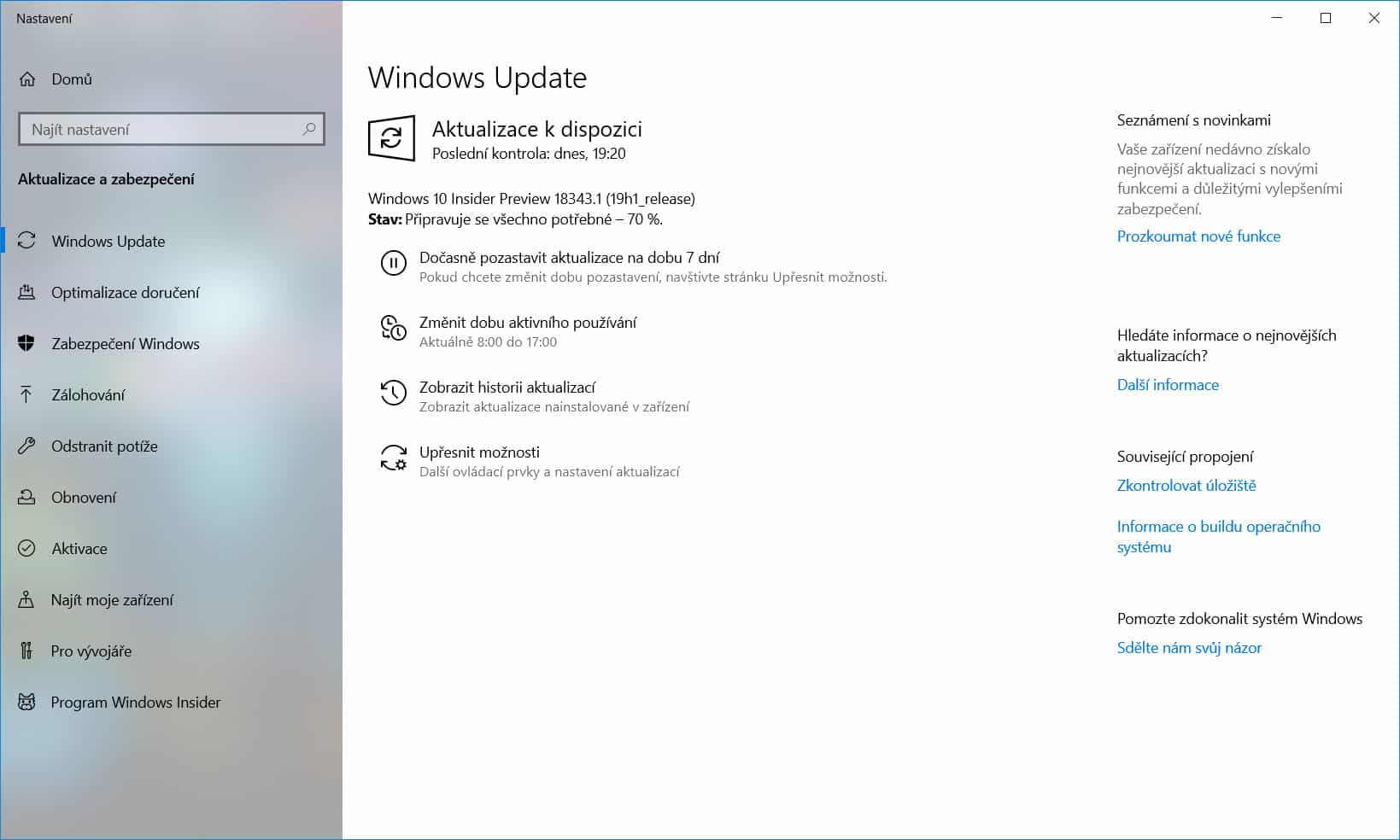 Windows 10 Insider Preview build 18343 1