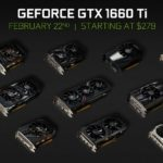 nvidia geforce gtx 1660 turing karty prehled