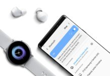 Samsung Galaxy Buds a Galaxy Watch Active