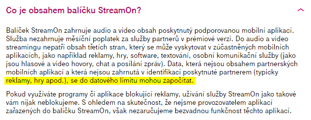 tmobile streamon reklamy