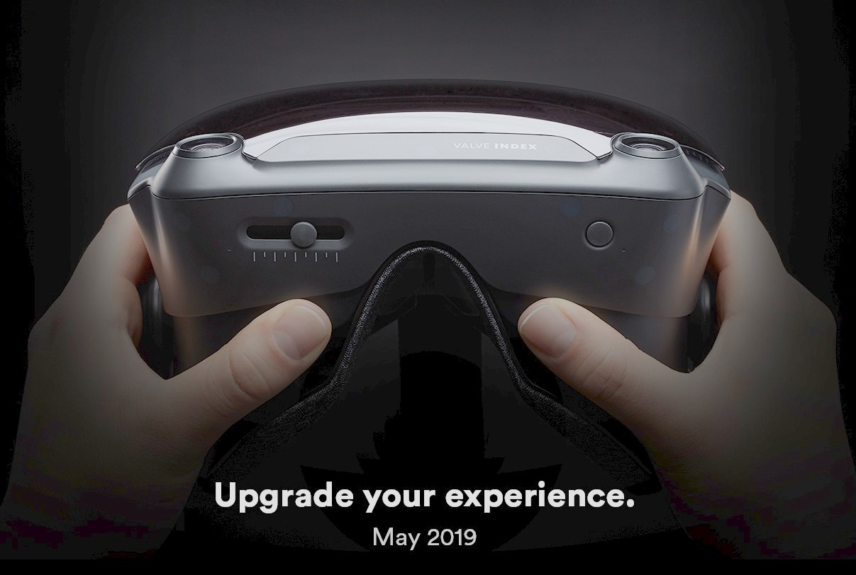 VR headset Valve Index jas