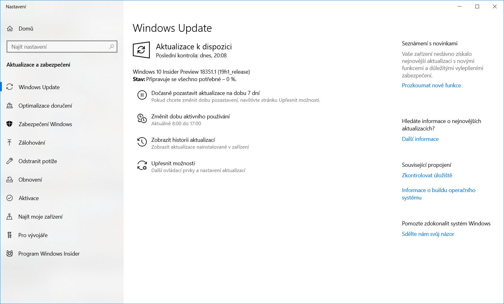 Windows 10 Insider Preview build 18351 1