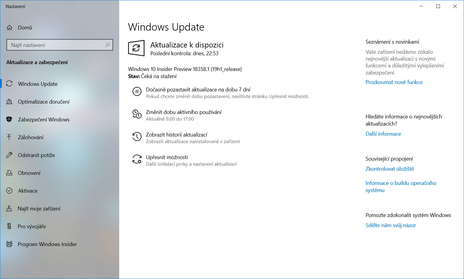 Windows 10 Insider Preview build 18358 1