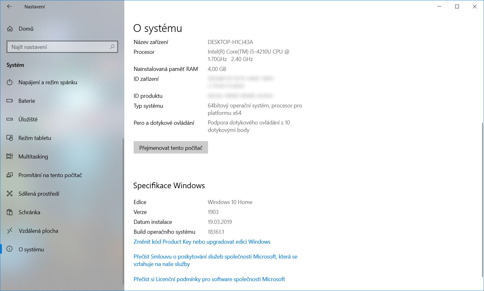 Windows 10 Insider Preview build 18361 2