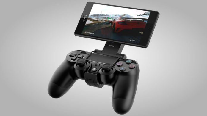 Sony PS4 Remote Play na Xperii