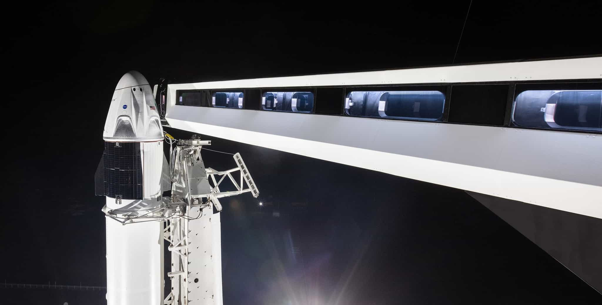 spacex crew dragon test 2