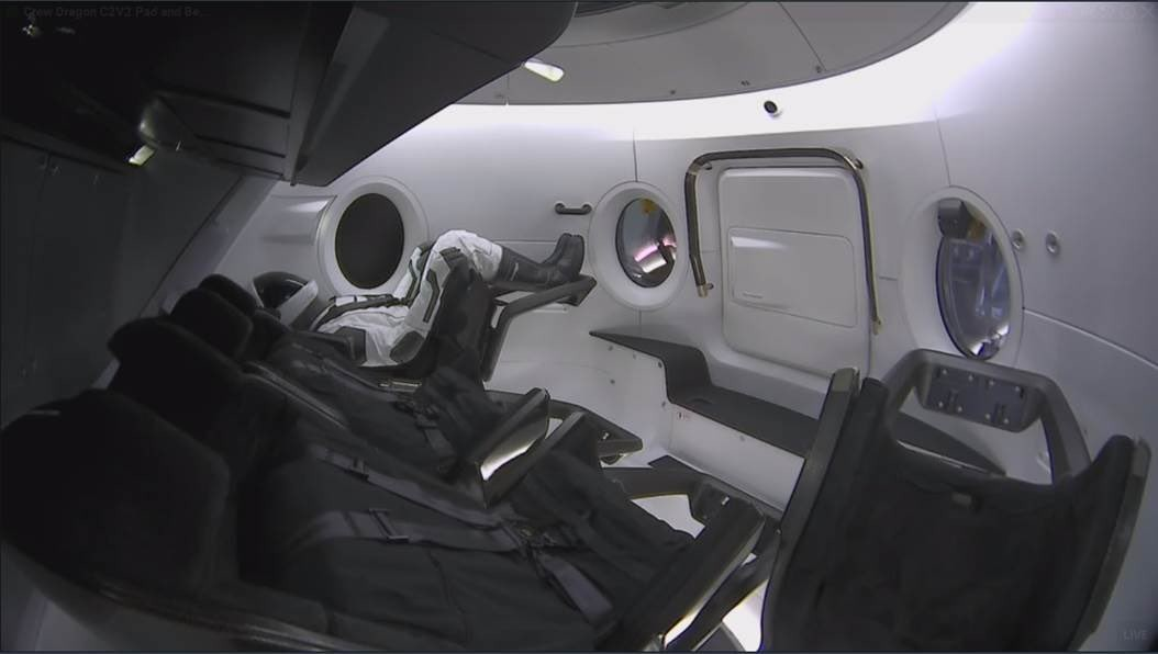 spacex crew dragon test 4