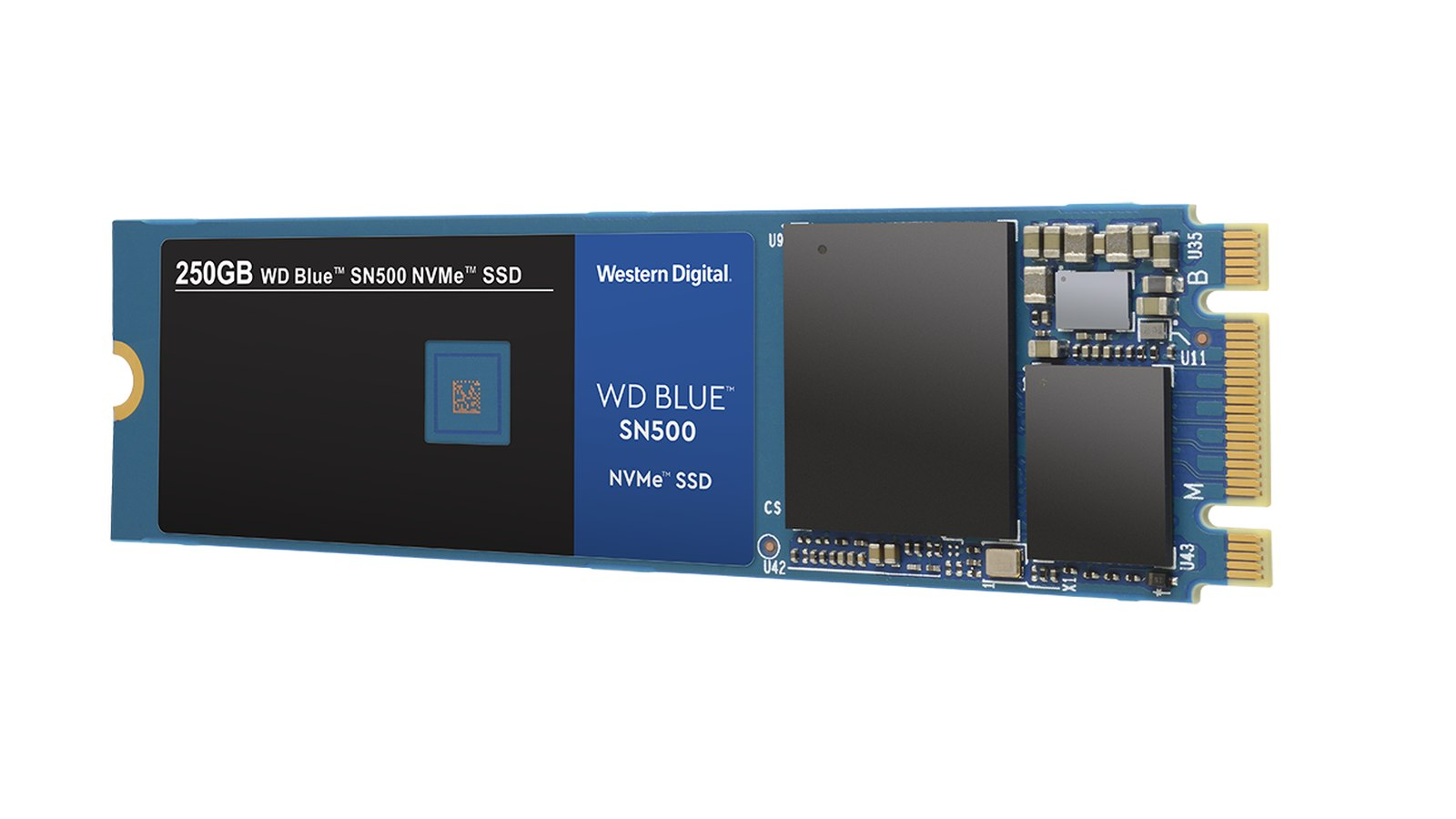 NVMe SSD moduly WD Blue SN500