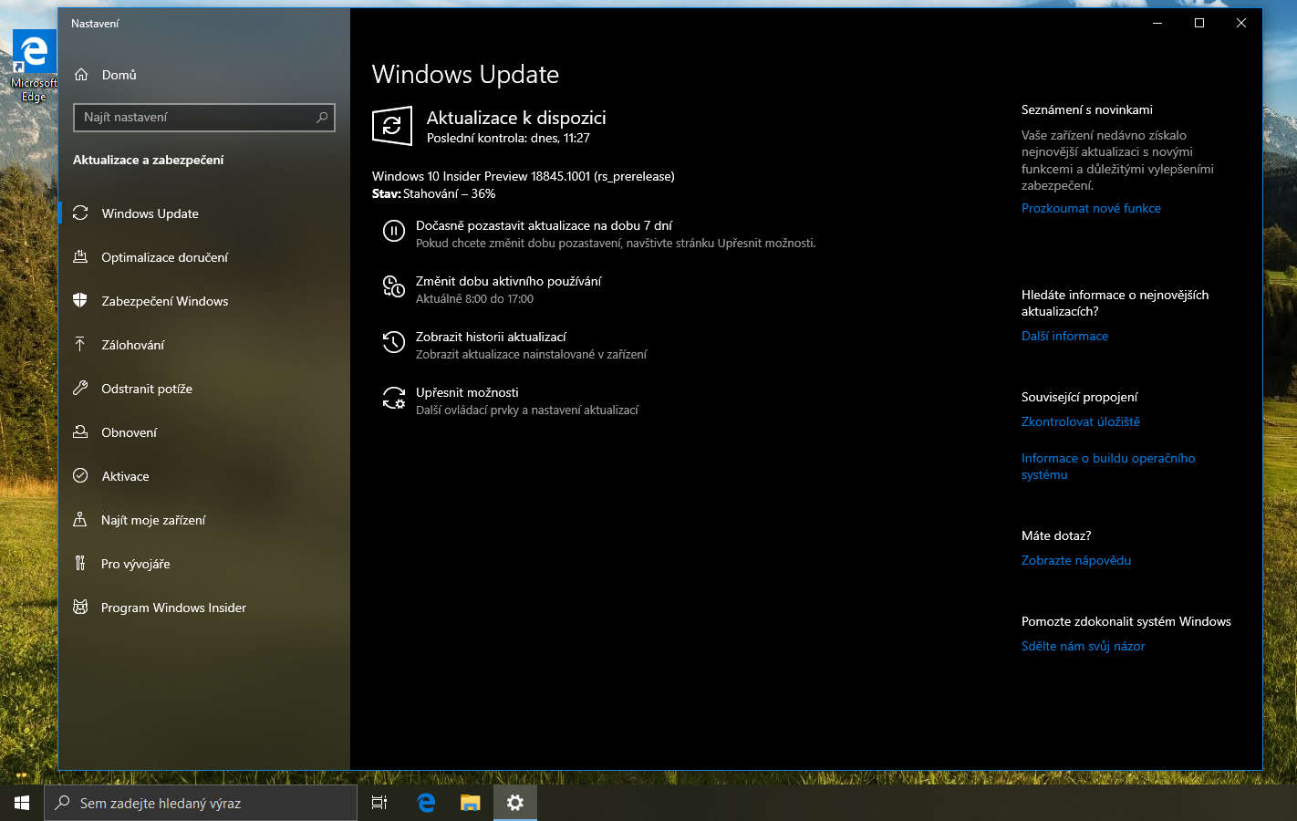 windows 10 insider preview build 18845 2