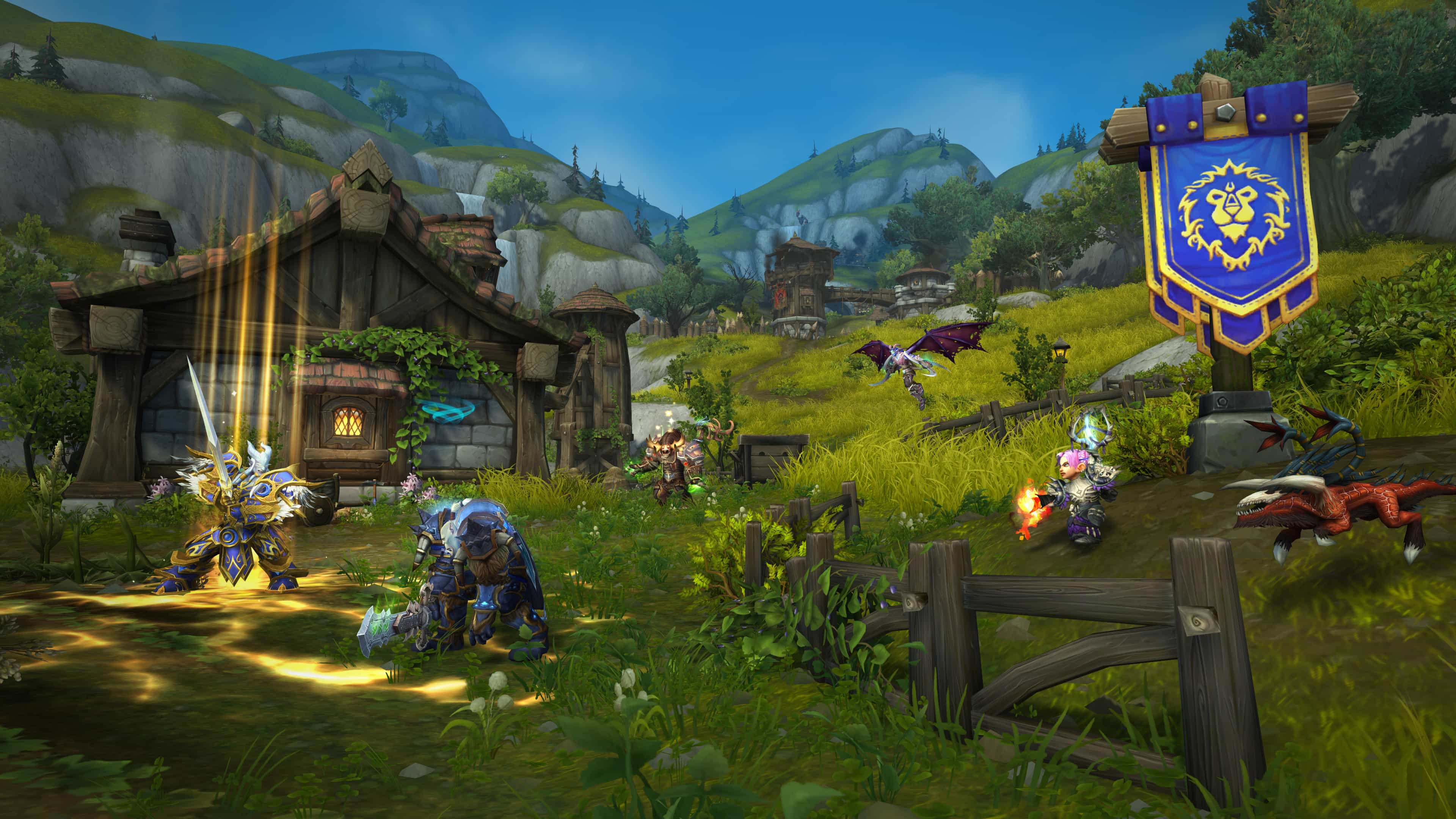 wow battle for azeroth official blizzard 1