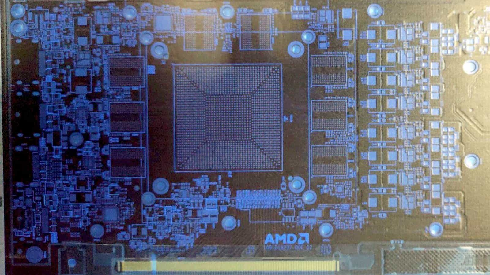 First, look at AMD Radeon Navi: PCB leak with 256bit  GDDR6