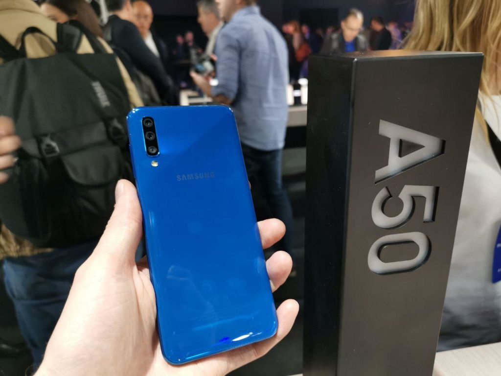 Galaxy A50 hands on