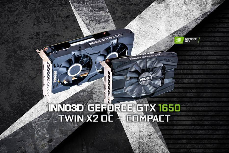 GeForce GTX 1650 Inno3D