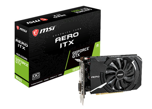 GeForce GTX 1650 MSI 4