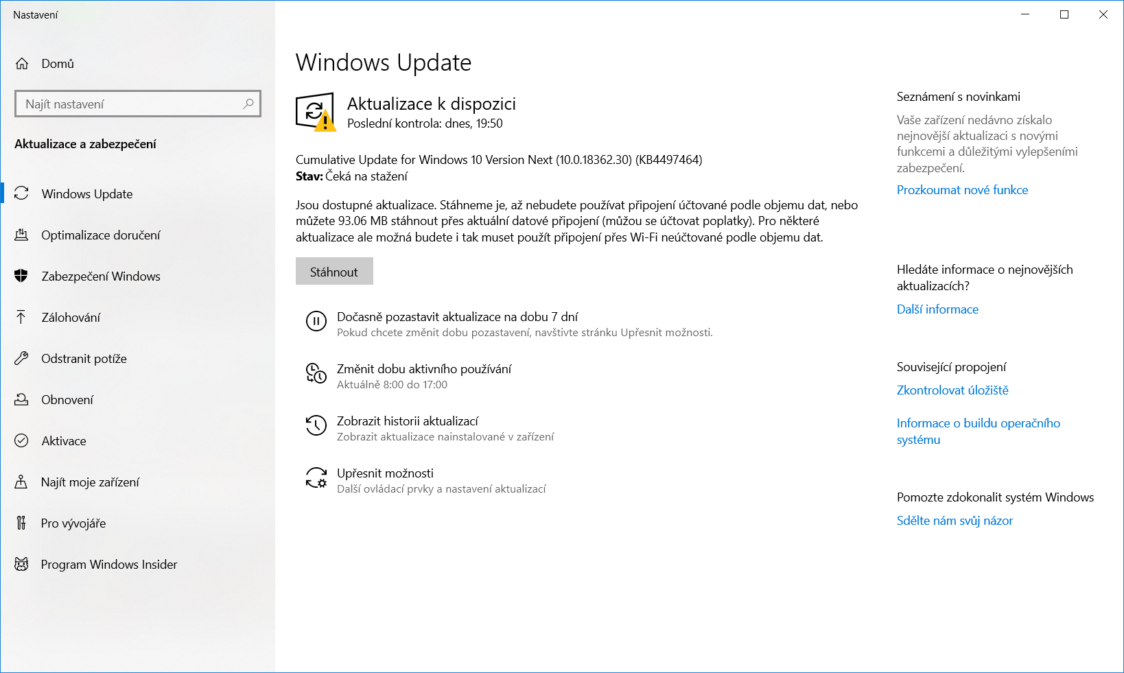 Windows 10 Insider Preview build 18362 30