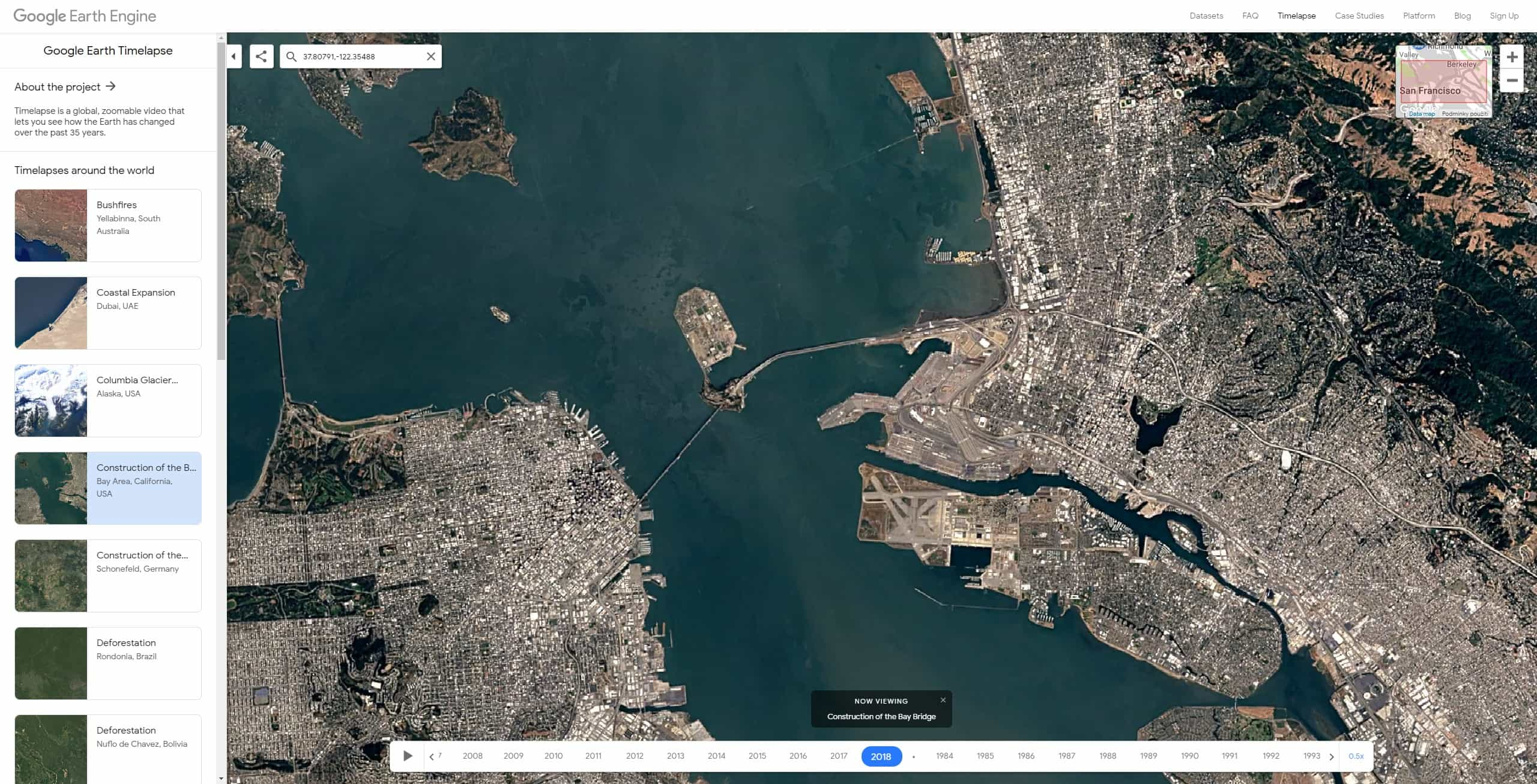 google earth timelapse 16