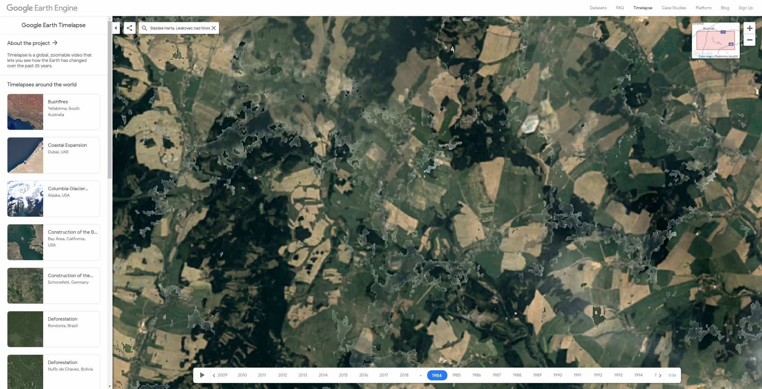 google earth timelapse cesko 03