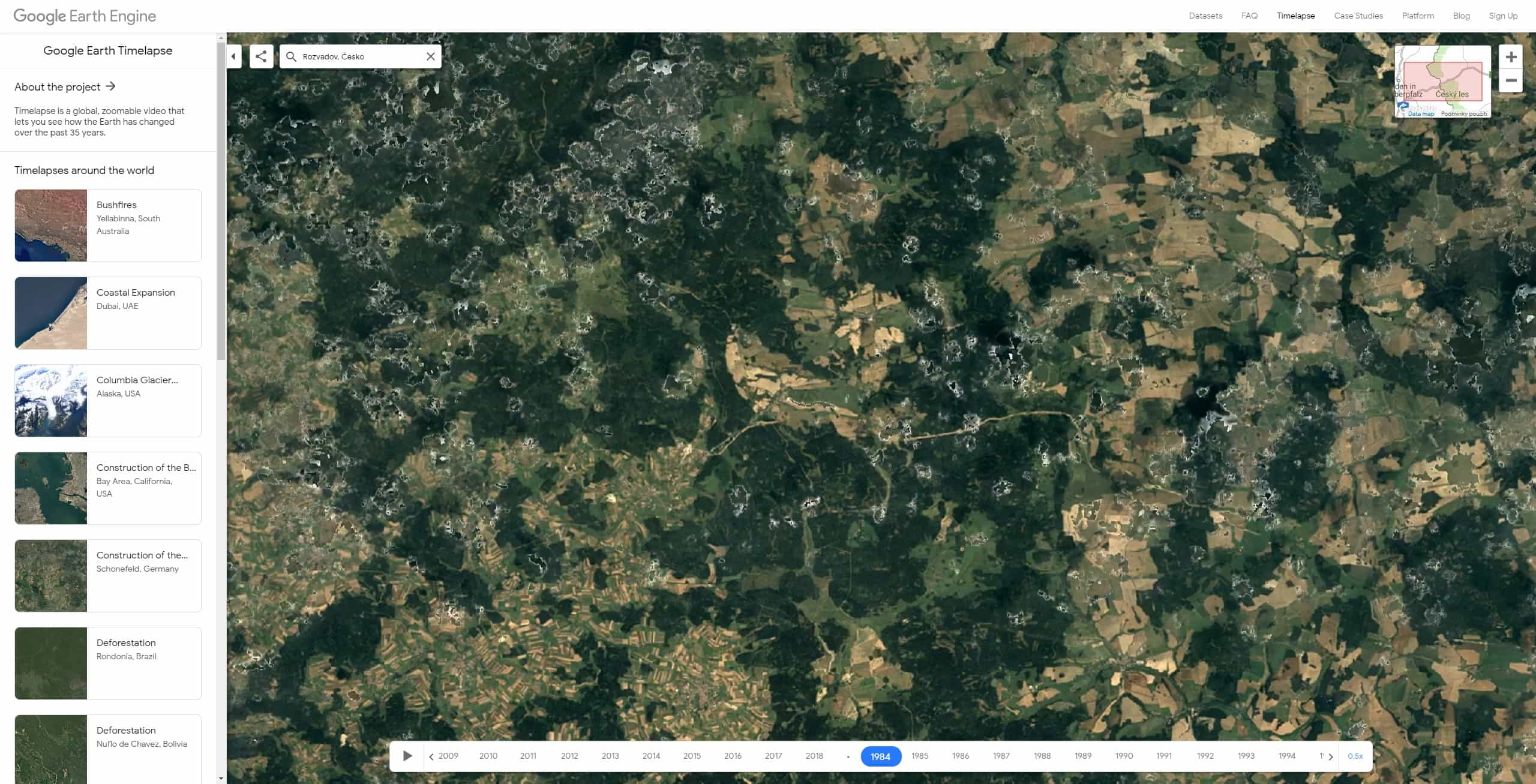 google earth timelapse cesko 07