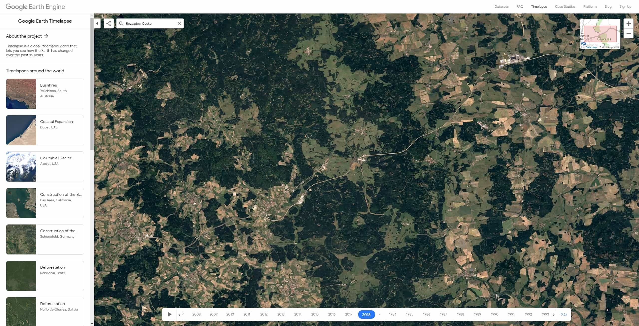 google earth timelapse cesko 08