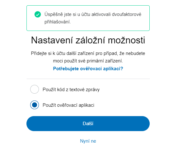 paypal 2fa otp 3