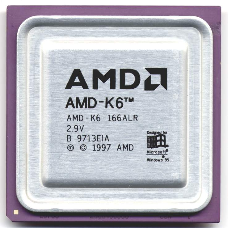 AMD K6 na 166 MHz Wikimedia Commons