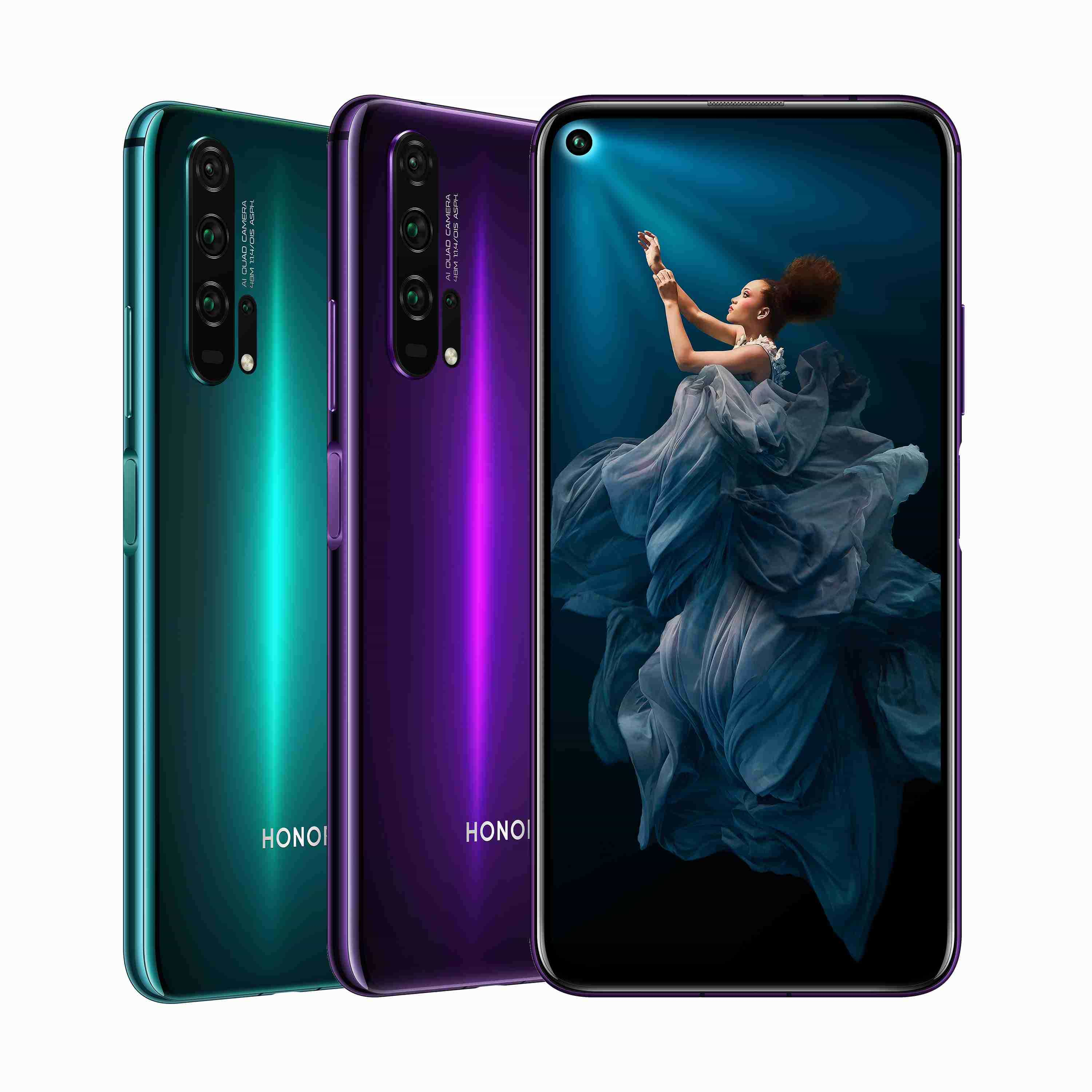 HONOR 20 Pro prehled