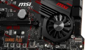 MSI MPG X570 Gaming Plus aktivni chlazeni cipset ventilator 1600