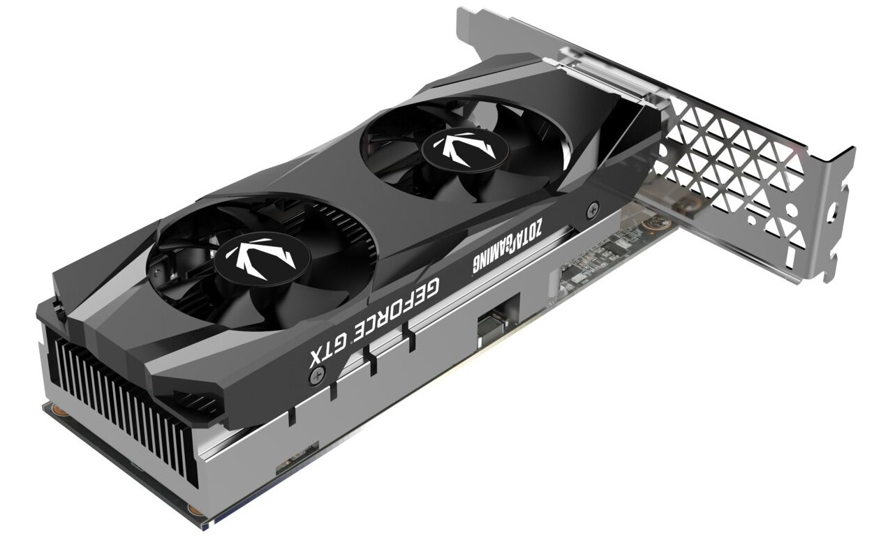 Zotac GeForce GTX 1650 Low Profile 01