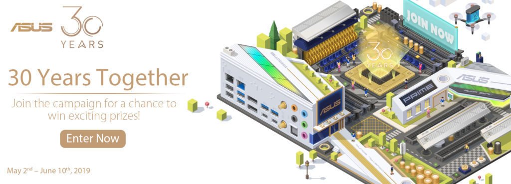 Asus 30 Years Together