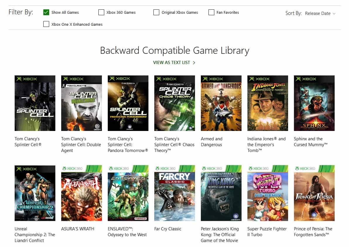 xbox backward compatibility end 2019 3