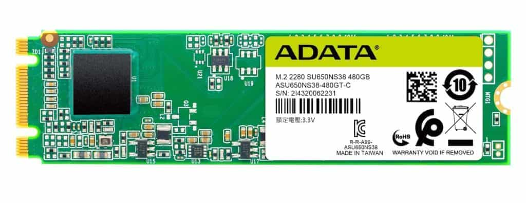 SSD Adata Ultimate SU650 01